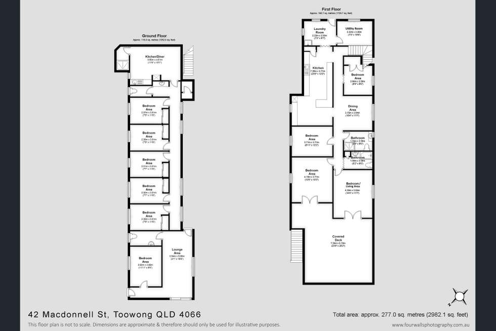 Floorplan of Homely house listing, 4/42 Macdonnell Street, Toowong QLD 4066