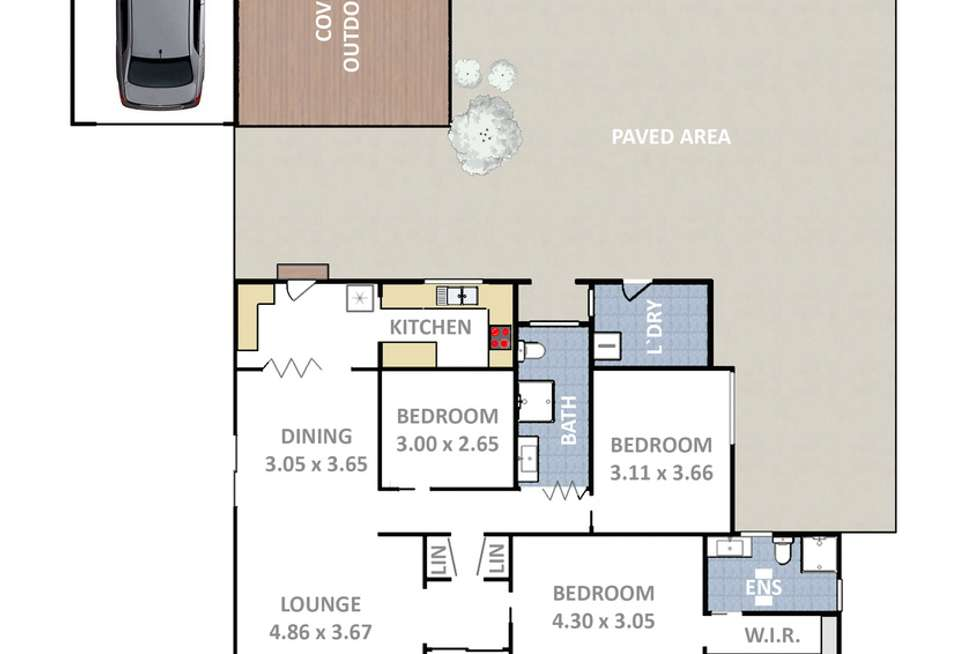 Floorplan of Homely house listing, 4 Amiens Street, Littleton NSW 2790