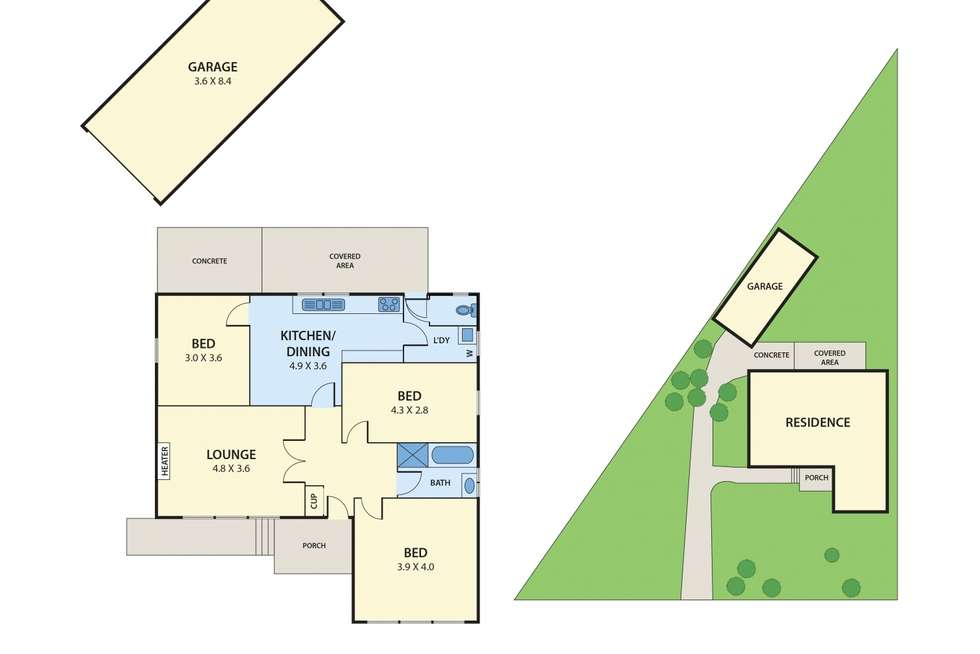 Floorplan of Homely house listing, 112 Browns Road, Clayton VIC 3168
