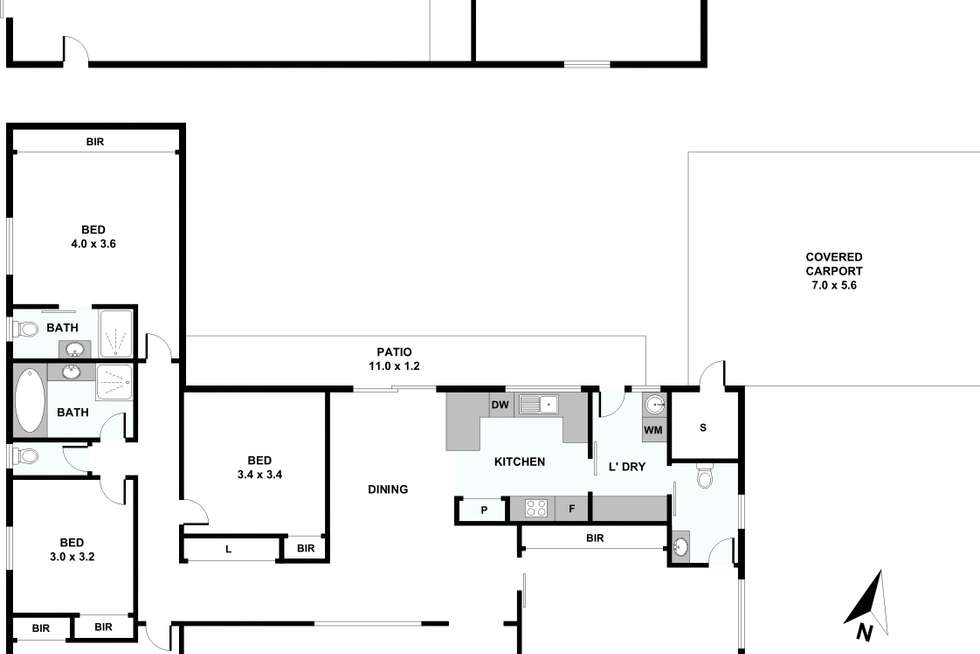Floorplan of Homely house listing, 5 Enfield Avenue, Lithgow NSW 2790