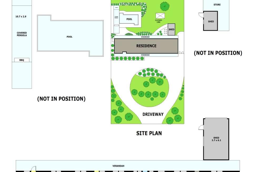 Floorplan of Homely acreageSemiRural listing, 100 MANGANS ROAD, Lilydale VIC 3140