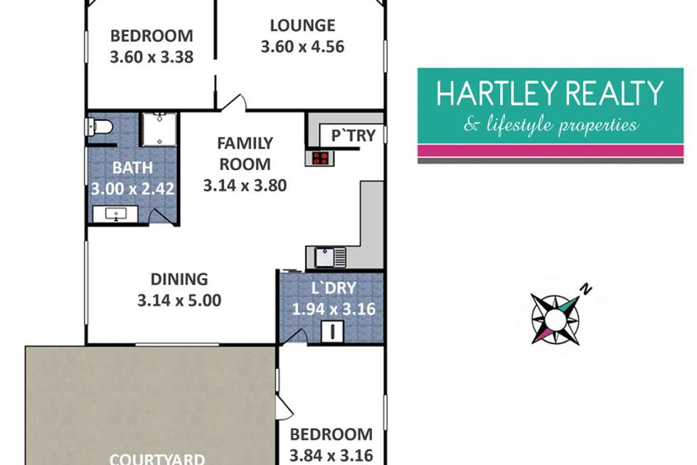 Floorplan of Homely house listing, 55 Coalbrook Street, Lithgow NSW 2790