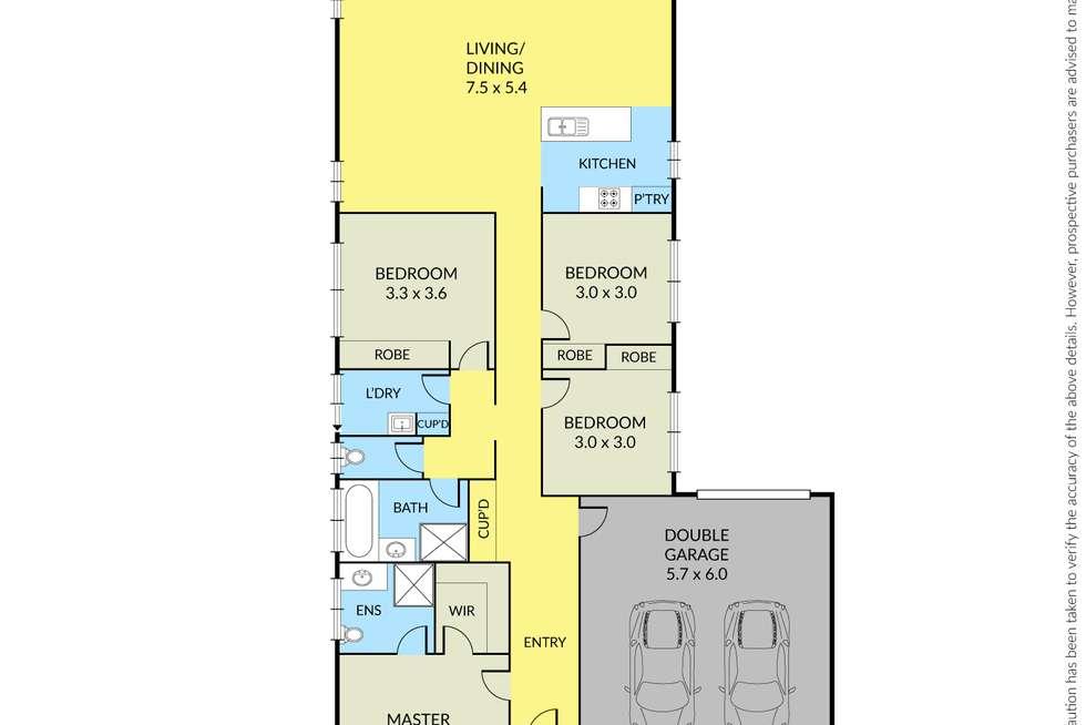 Floorplan of Homely house listing, 15 Victoria Street, Truganina VIC 3029