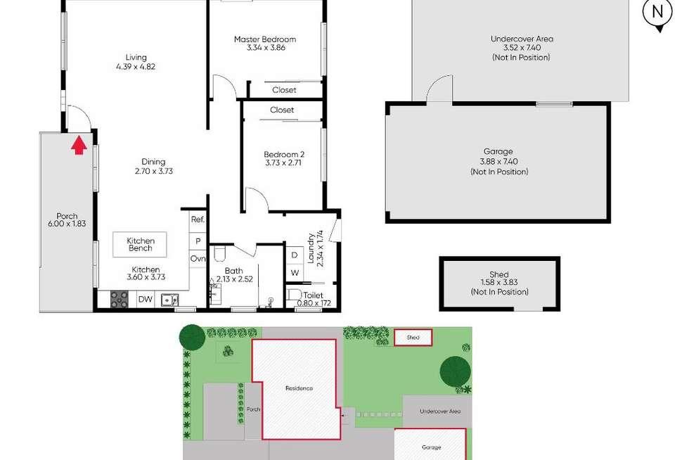Floorplan of Homely house listing, 141 Albert Street, Preston VIC 3072