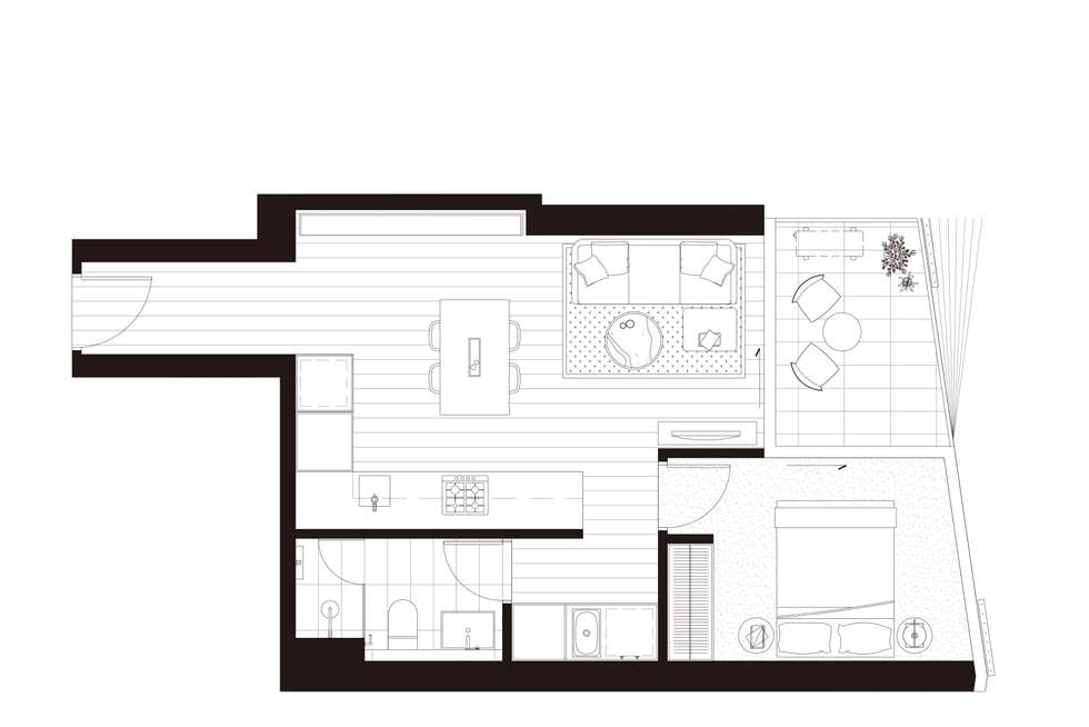 Floorplan of Homely apartment listing, 906/15 Austin Street, Adelaide SA 5000