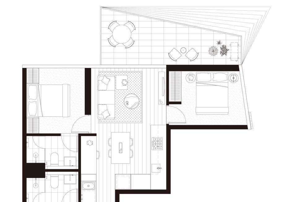 Floorplan of Homely apartment listing, 2103/17 Austin Street, Adelaide SA 5000