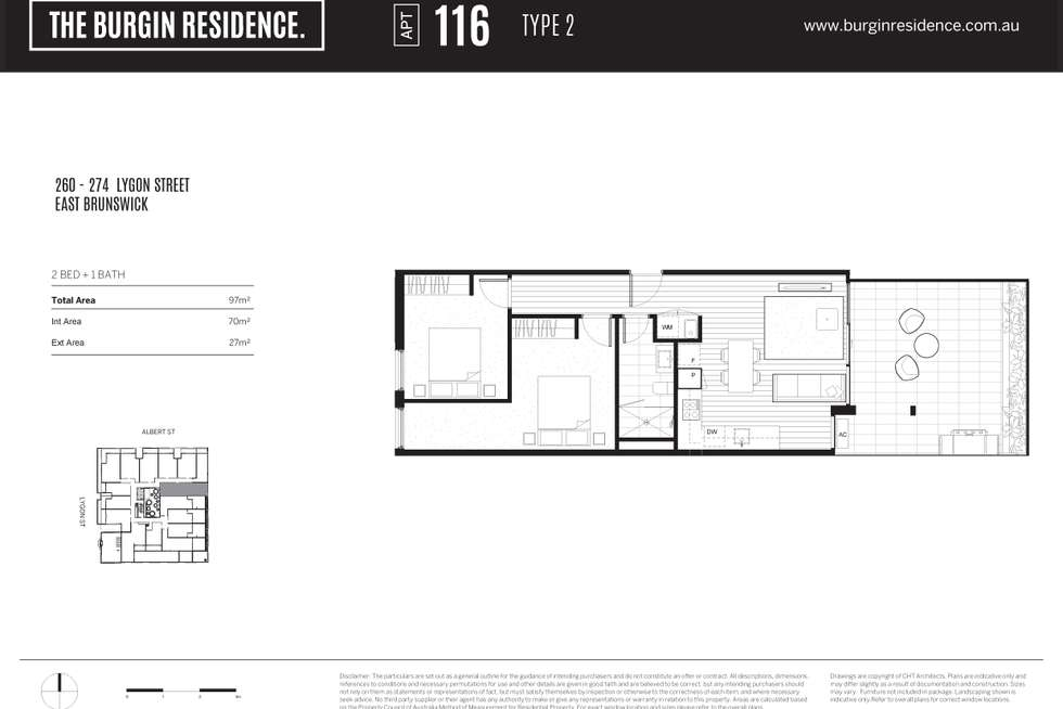 Floorplan of Homely apartment listing, 317/270 Lygon Street,, Brunswick East VIC 3057