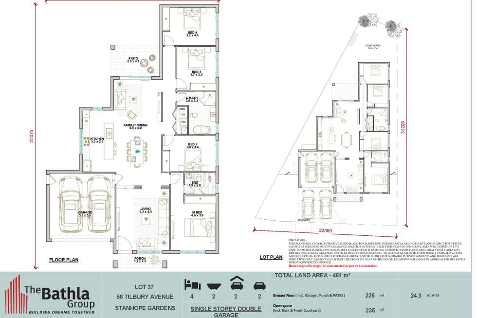 Floorplan of Homely house listing, 58 Tilbury Avenue, Stanhope Gardens NSW 2768