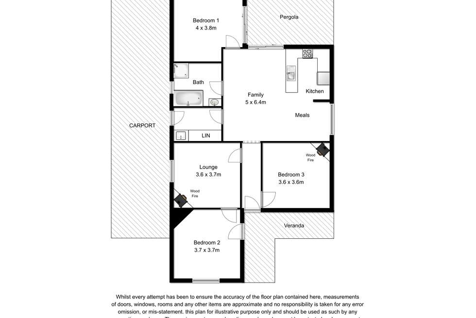 Floorplan of Homely house listing, 10-12 Randall Street, Tantanoola SA 5280
