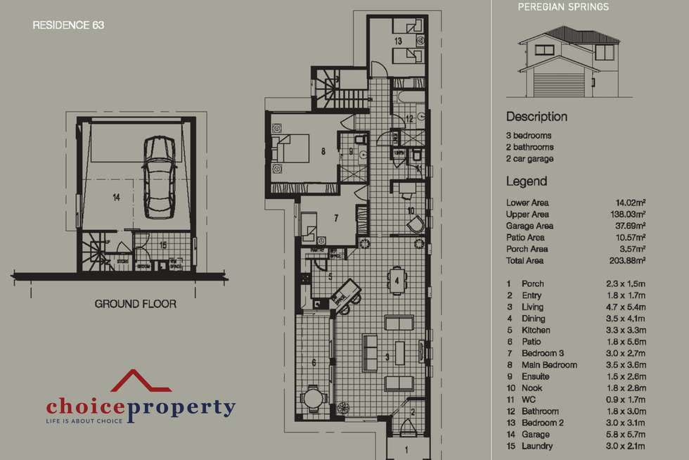 Floorplan of Homely house listing, 63/15 Dunes Court, Peregian Springs QLD 4573