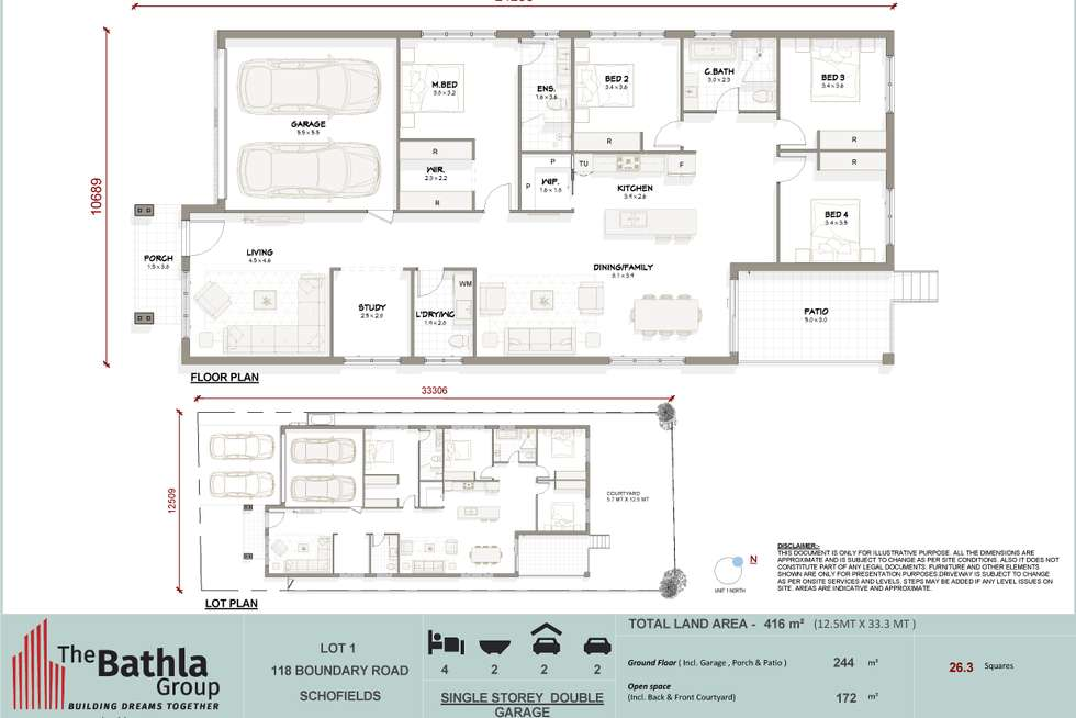 Floorplan of Homely house listing, 118 Boundary Road, Schofields NSW 2762
