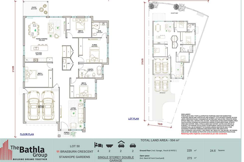 Floorplan of Homely house listing, 11 Braeburn Crescent, Stanhope Gardens NSW 2768
