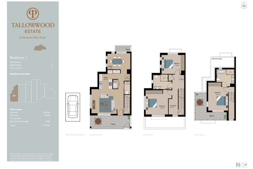 Floorplan of Homely townhouse listing, 10-1 10-12 Newhaven Place, St Ives NSW 2075