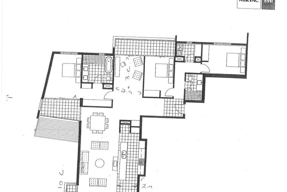 Floorplan of Homely apartment listing, 205/30 The Circus, Burswood WA 6100
