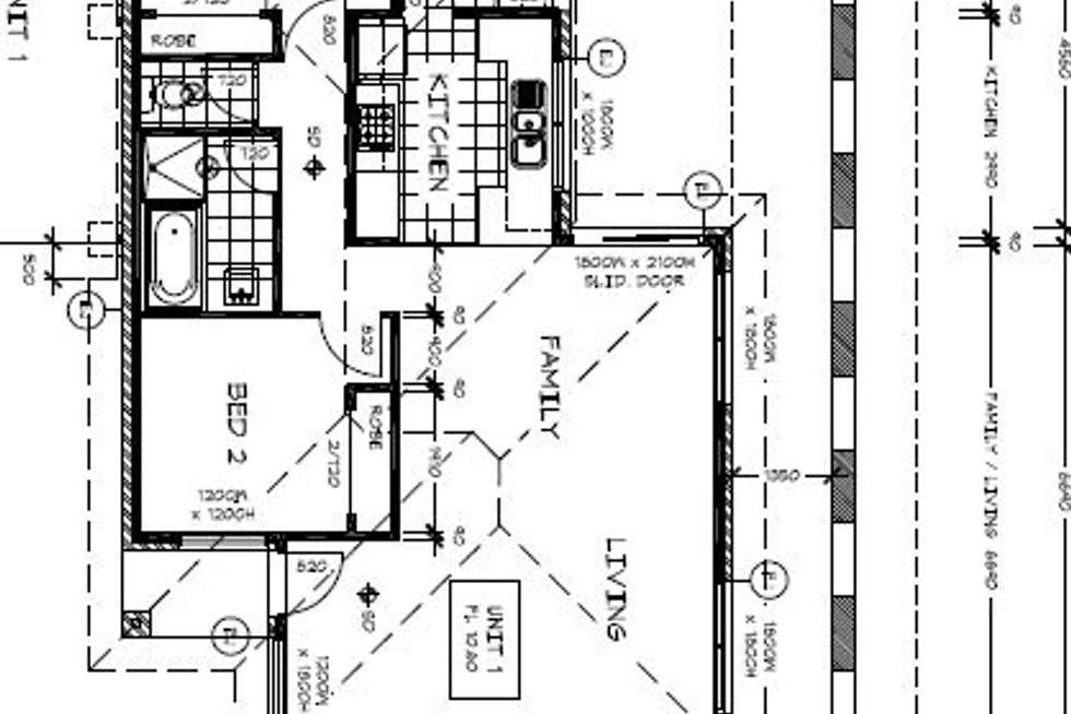 Floorplan of Homely unit listing, 2/3 Shiraz Crescent, Narre Warren VIC 3805