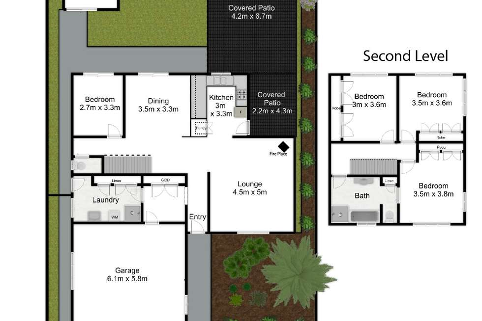 Floorplan of Homely house listing, 51 Helen Street, South Golden Beach NSW 2483