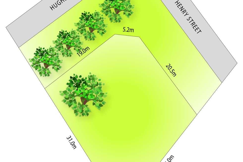 Floorplan of Homely residentialLand listing, LOT 1/264 Henry Street, Deniliquin NSW 2710