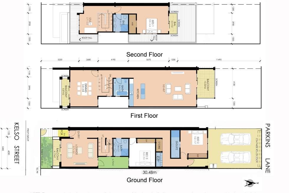Floorplan of Homely house listing, 3 Kelso Street, Cremorne VIC 3121
