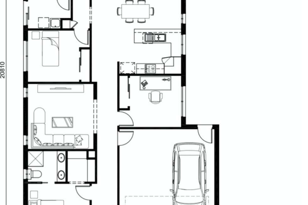 Floorplan of Homely house listing, Stanley at Stanley Road, Keysborough VIC 3173