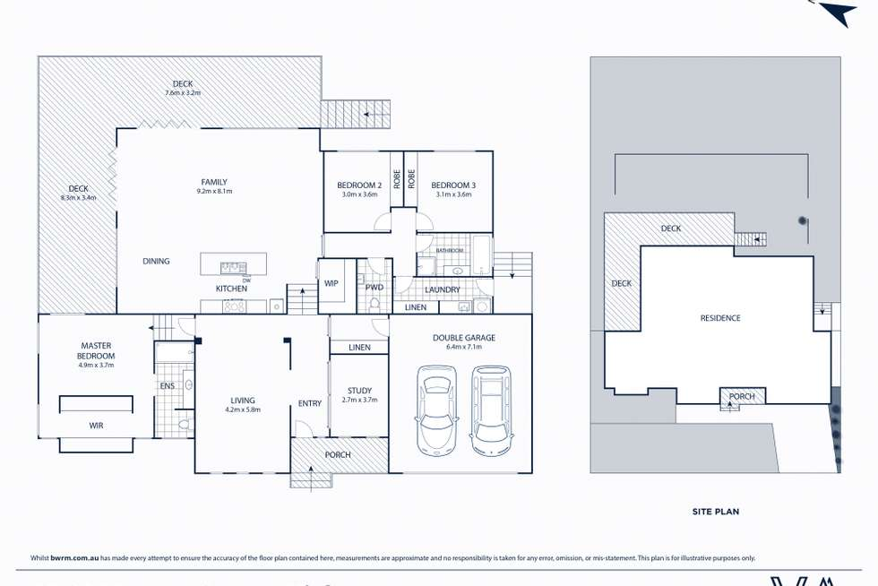 Floorplan of Homely house listing, 19-21 Morena Street, Highton VIC 3216