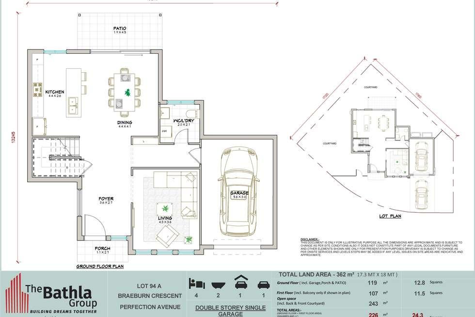 Floorplan of Homely house listing, 22A Braeburn Crescent, Stanhope Gardens NSW 2768