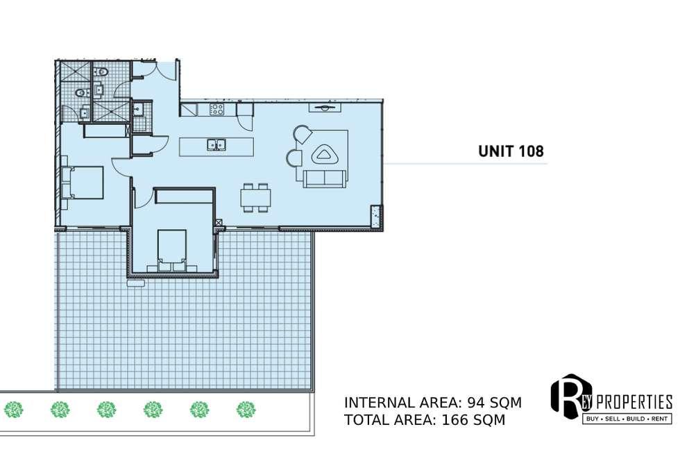 Floorplan of Homely apartment listing, 108/23-29 Hassall Street, Parramatta NSW 2150