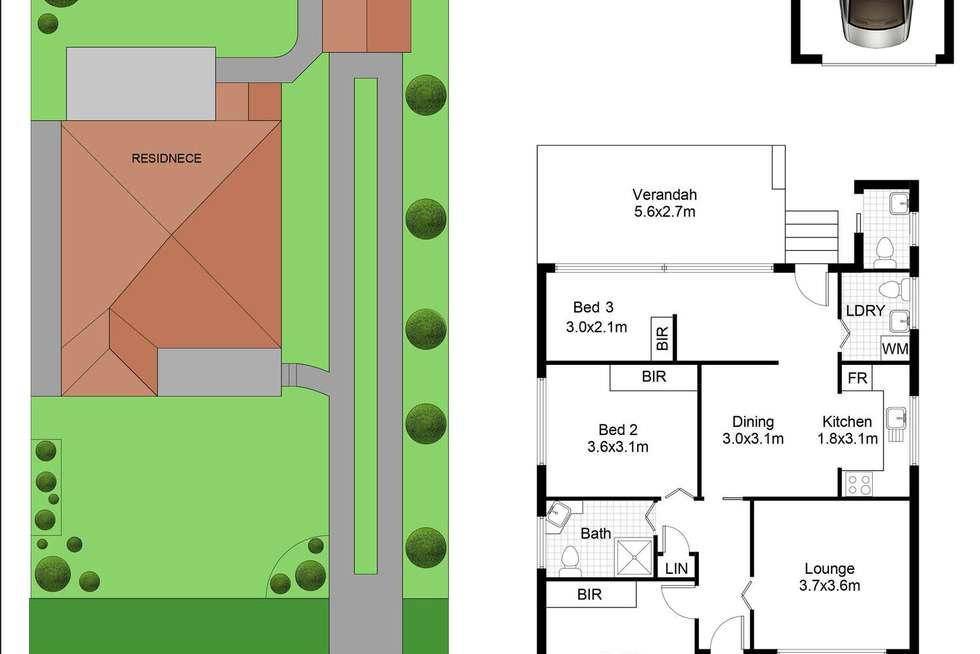 Floorplan of Homely house listing, 10 Stephanie St, Padstow NSW 2211