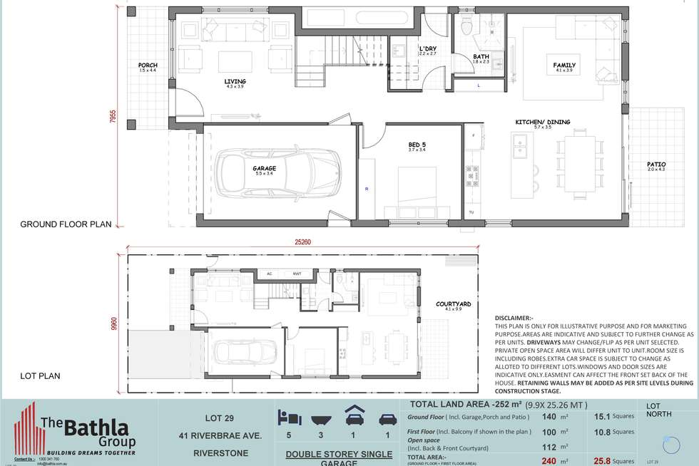 Floorplan of Homely house listing, 41 Riverbrae Avenue, Riverstone NSW 2765