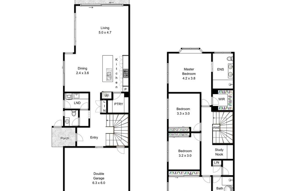 Floorplan of Homely house listing, 89A Victoria Terrace, Greenslopes QLD 4120