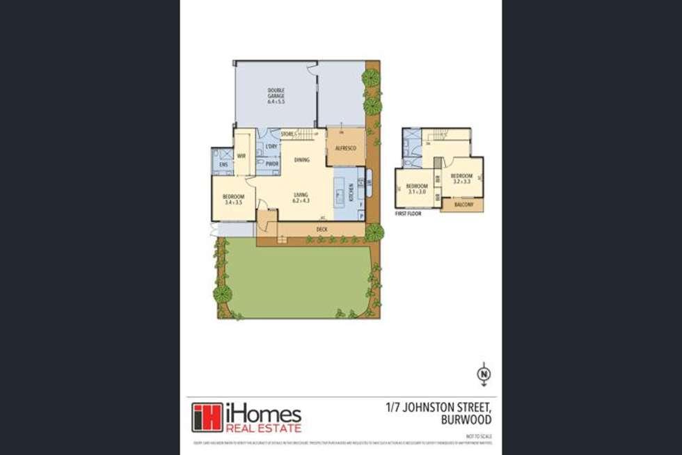 Floorplan of Homely house listing, 1/7 Johnston Street, Burwood VIC 3125