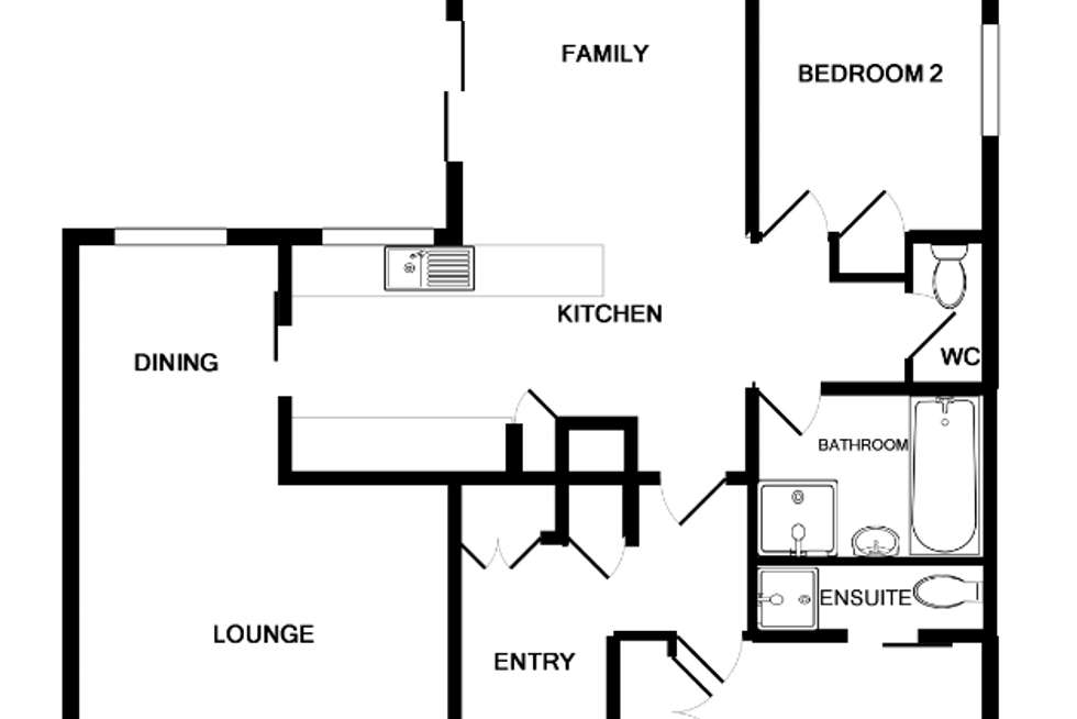 Floorplan of Homely house listing, 17 MCFARLAND ROAD, Wodonga VIC 3690
