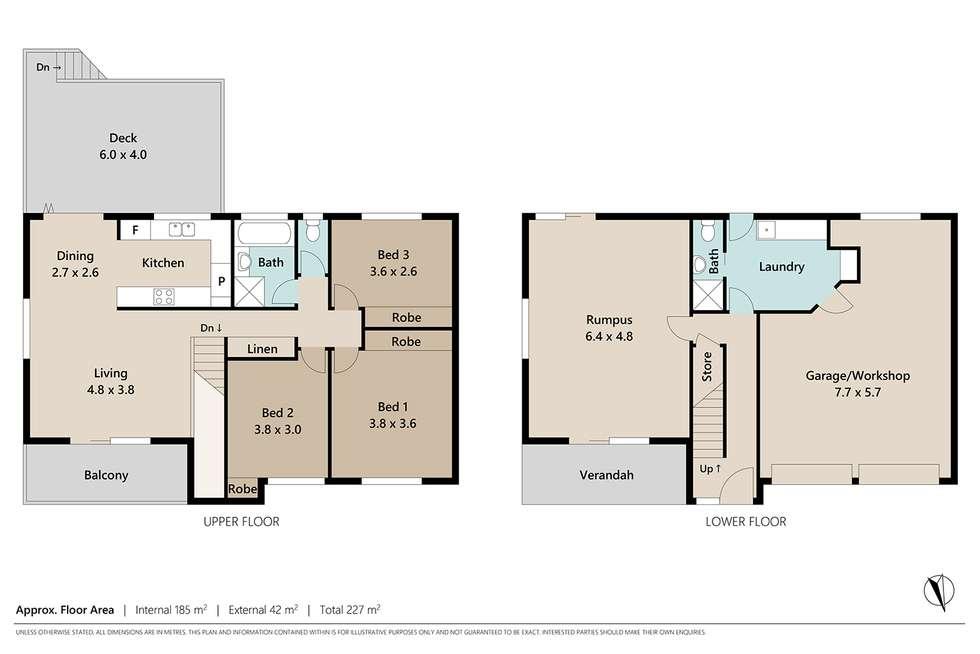 Floorplan of Homely house listing, 312 Sumners Road, Riverhills QLD 4074