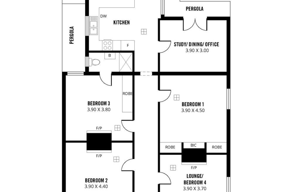 Floorplan of Homely house listing, 16 Royal Avenue, Adelaide SA 5000
