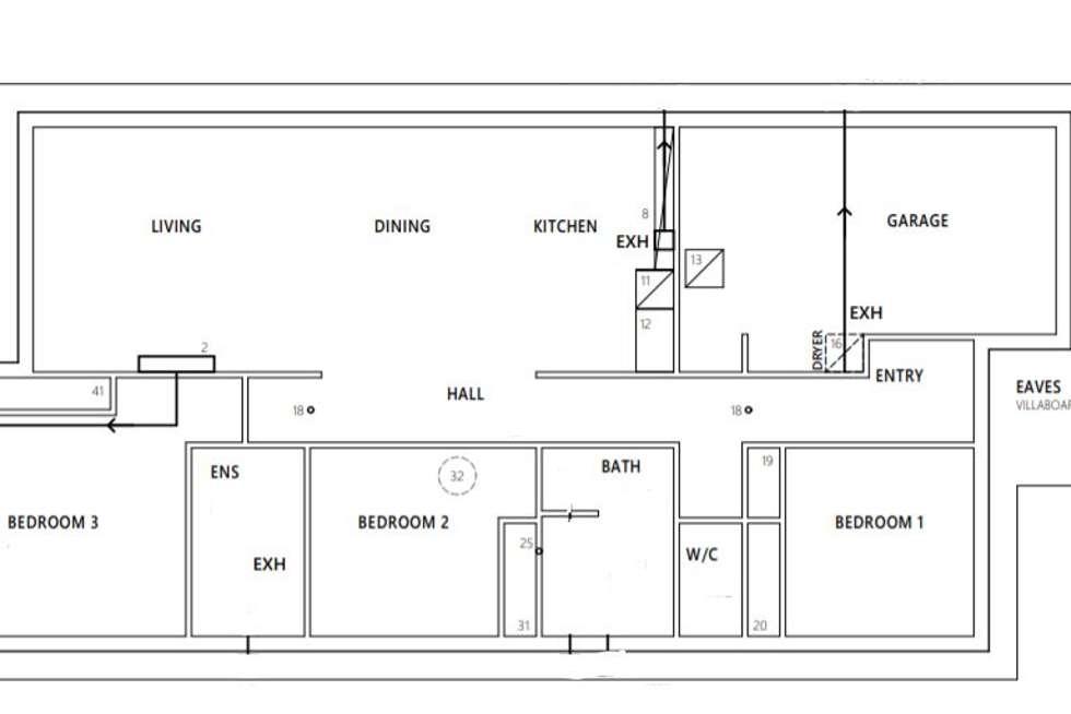 Floorplan of Homely house listing, Lot 1, 2, 3, 4 & 25 Millpond Court, Wynyard TAS 7325
