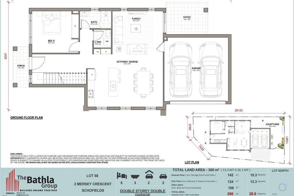 Floorplan of Homely house listing, 2 Merssey Crescent, Schofields NSW 2762