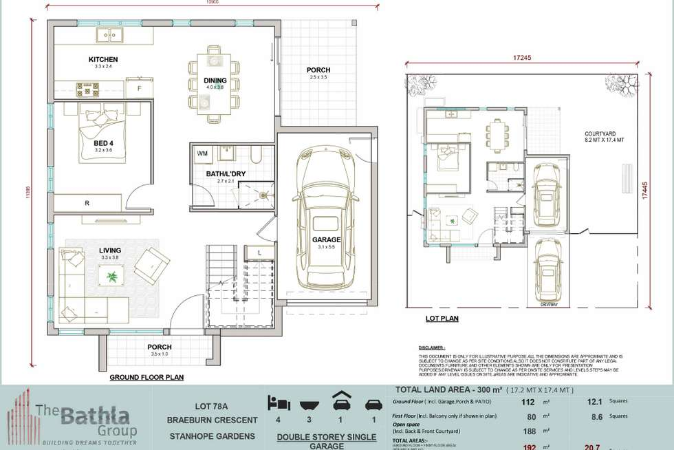 Floorplan of Homely house listing, 10A Batlow Street, Stanhope Gardens NSW 2768