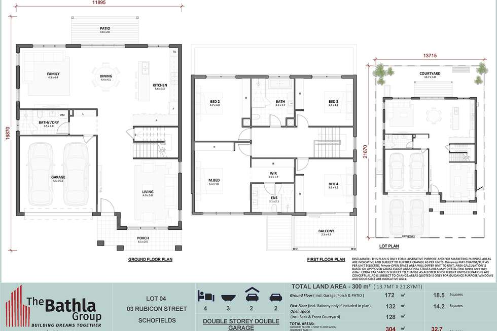 Floorplan of Homely house listing, 3 Rubicon Street, Schofields NSW 2762