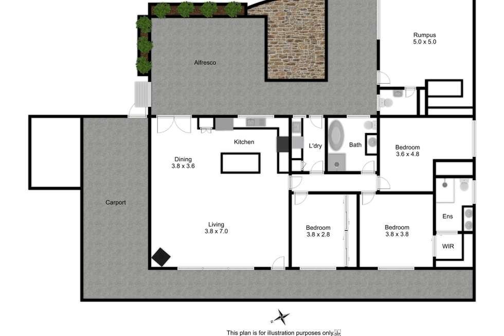 Floorplan of Homely house listing, 22 Reynolds Street, Mansfield VIC 3722