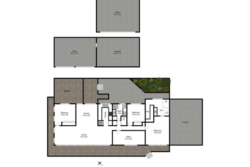 Floorplan of Homely house listing, 162 Malcolm Street, Mansfield VIC 3722