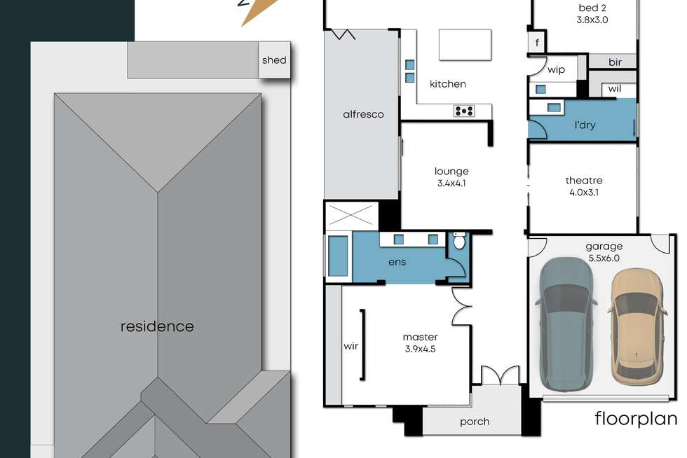 Floorplan of Homely house listing, 6 Sundaze Street, Clyde North VIC 3978