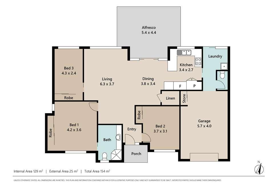 Floorplan of Homely villa listing, 73/119 Sugarwood Street, Moggill QLD 4070