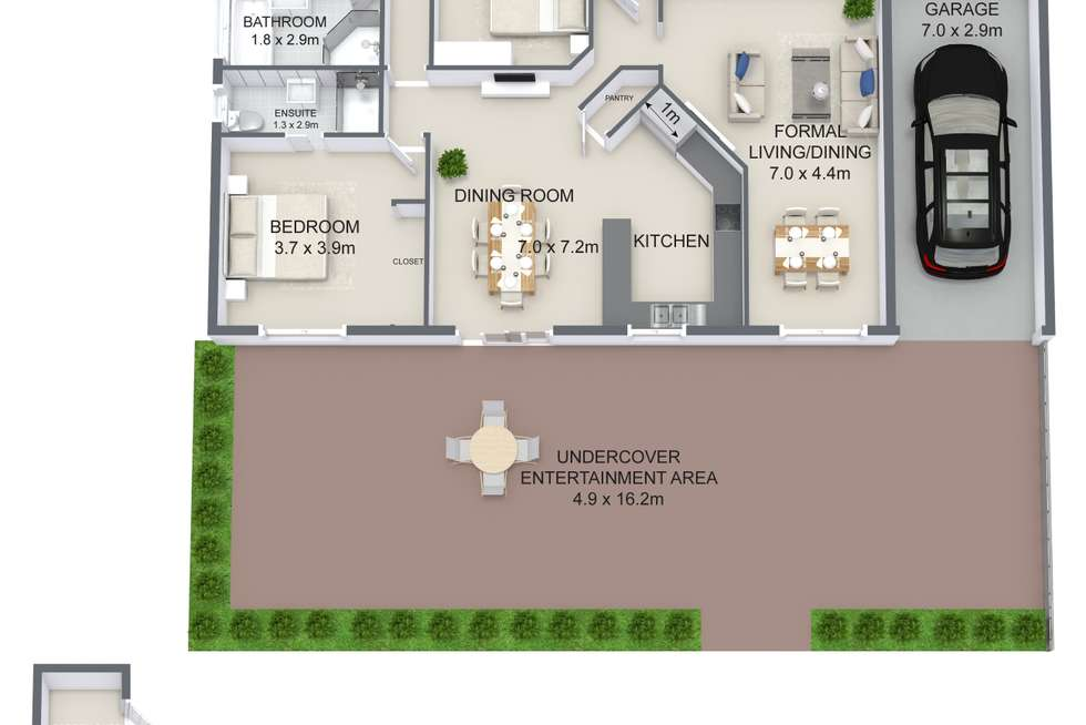 Floorplan of Homely house listing, 13 BARCREST COURT, Crestmead QLD 4132