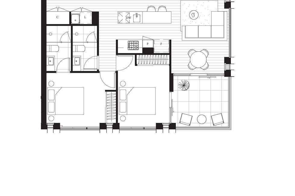 Floorplan of Homely apartment listing, 111/22-26 Lygon Street, Brunswick East VIC 3057