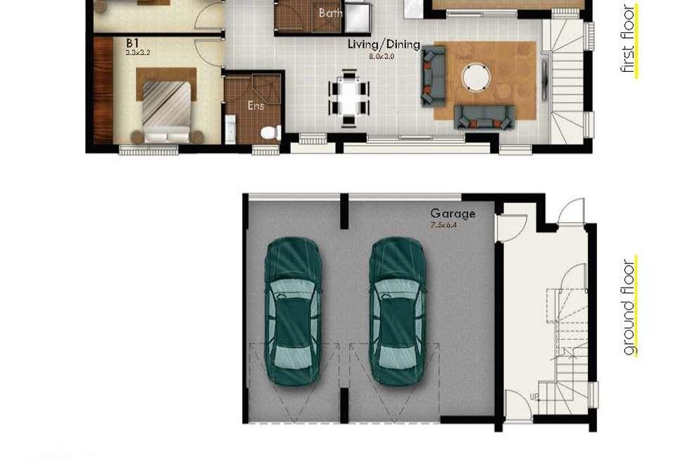 Floorplan of Homely townhouse listing, 39/23 - 33 Napier Street, Parramatta NSW 2150