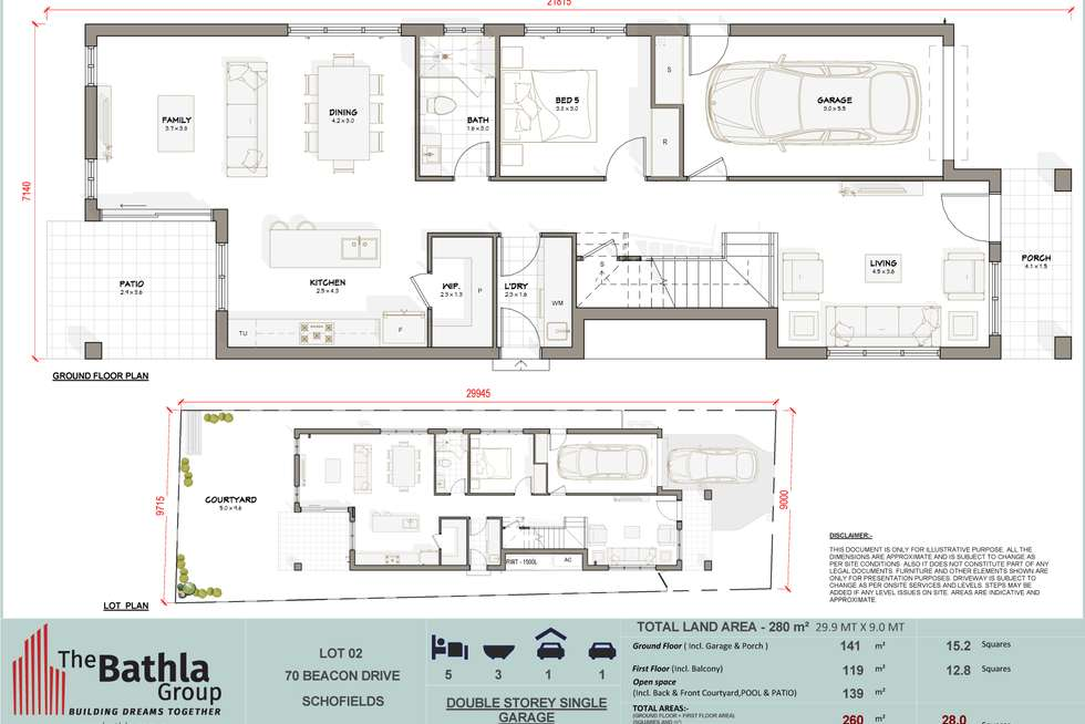 Floorplan of Homely house listing, 70 Beacon Drive, Schofields NSW 2762