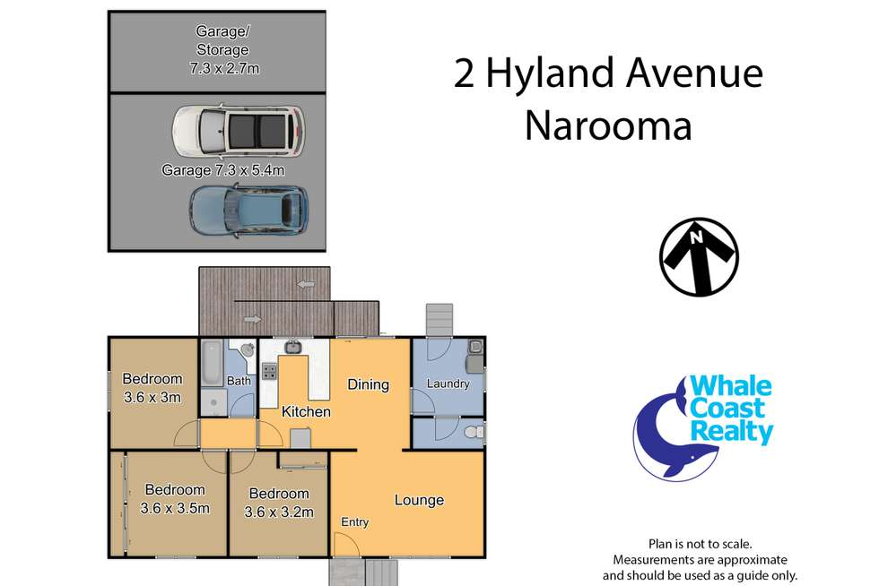 Floorplan of Homely house listing, 2 Hyland Avenue, Narooma NSW 2546