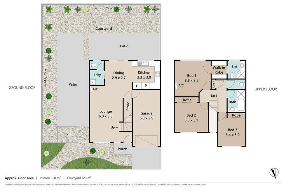 Floorplan of Homely townhouse listing, 5/134 Johnson Road, Hillcrest QLD 4118
