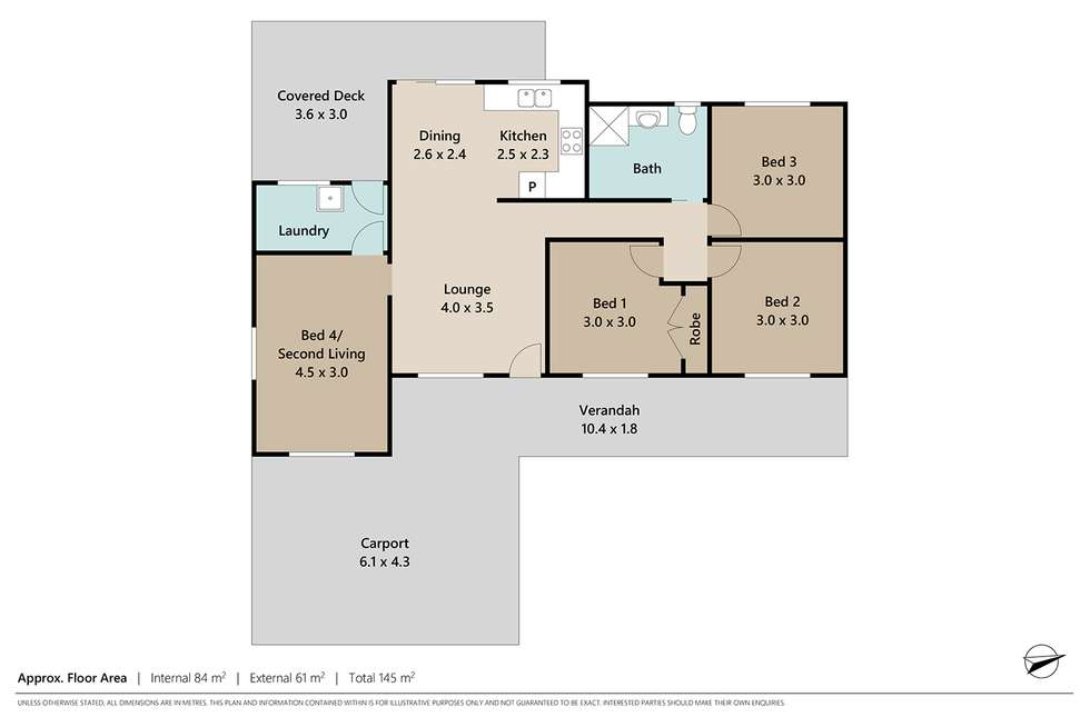 Floorplan of Homely house listing, 5 Peppermint Street, Crestmead QLD 4132