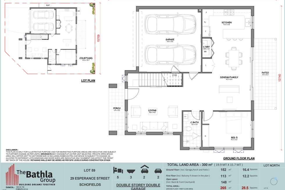 Floorplan of Homely house listing, 29 Esperance street, Schofields NSW 2762