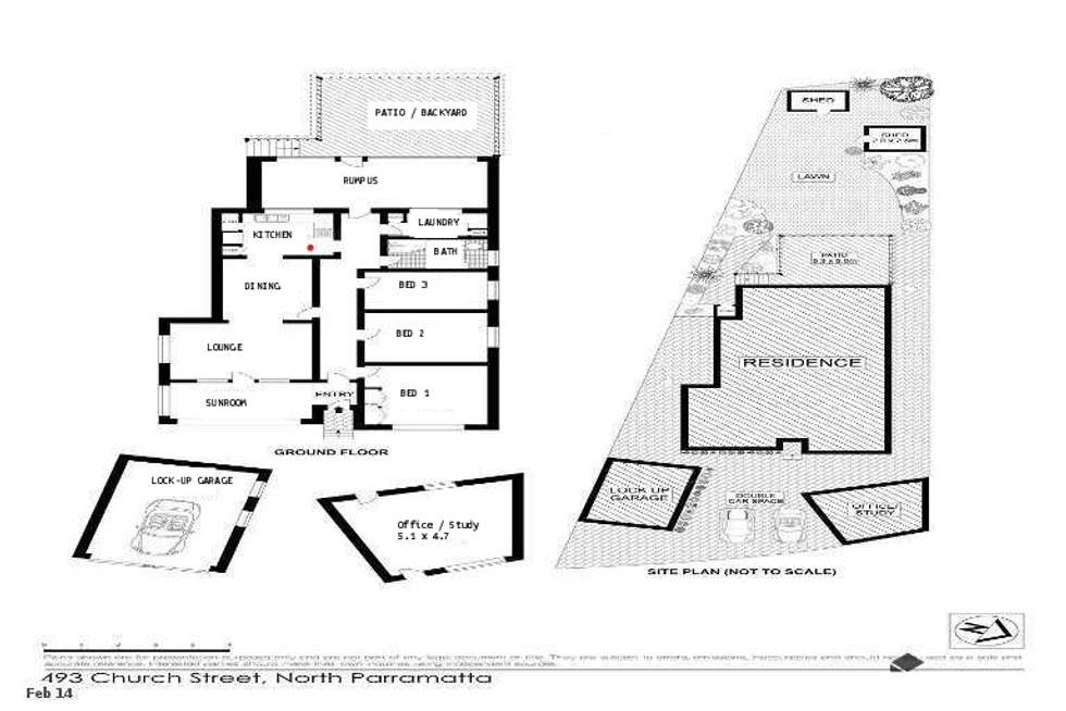 Floorplan of Homely house listing, 493 Church Street, North Parramatta NSW 2151